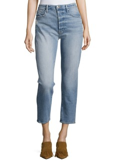 FRAME Le Original Cropped Straight Jeans