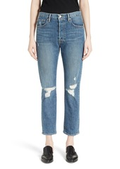 FRAME Le Original Distressed High Waist Jeans (Alabama)