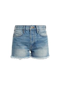 Frame Le Original high-rise denim shorts
