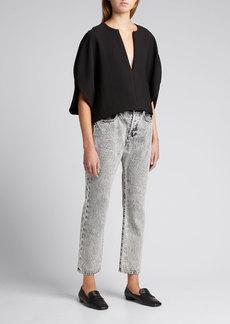 FRAME Le Original High-Rise Slim Jeans