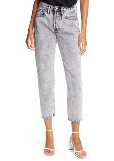 FRAME Le Original High Waist Straight Leg Jeans (Vendome)