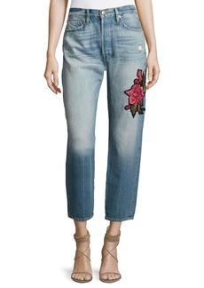 FRAME Le Original Patch Jeans