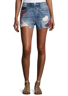 FRAME Le Original Patch Shorts