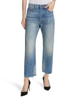 FRAME Le Original Staggered Ankle Hem Jeans (Hardwick)