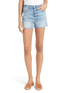 FRAME Le Original Tulip High Waist Denim Shorts (Chloe)