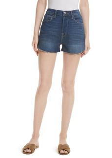 FRAME Le Original Tulip High Waist Shorts (Plummer) (Nordstrom Exclusive)
