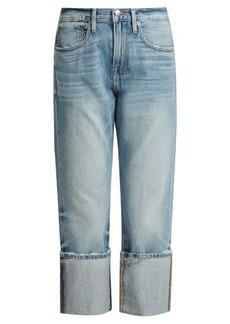Frame Le Oversized straight-leg jeans