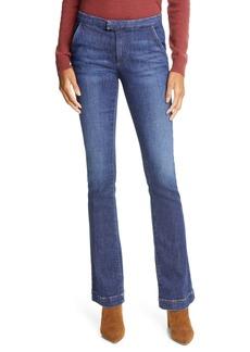 FRAME Le Pixie Serge Denim Trouser Jeans (Allesandro)
