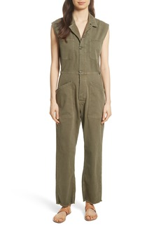 FRAME Le Service Twill Jumpsuit