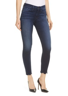 FRAME Le Skinny Chew Hem Ankle Jeans (Shelby)