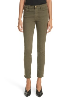 FRAME Le Skinny de Jeanne Ankle Jeans (Forest)