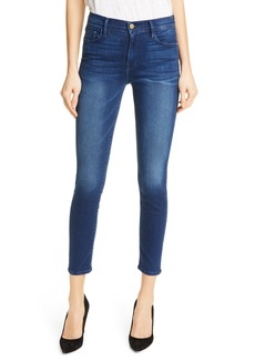 FRAME Le Skinny de Jeanne Crop Jeans (Cantine)