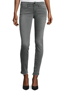 FRAME Le Skinny de Jeanne Double Raw-Hem Jeans