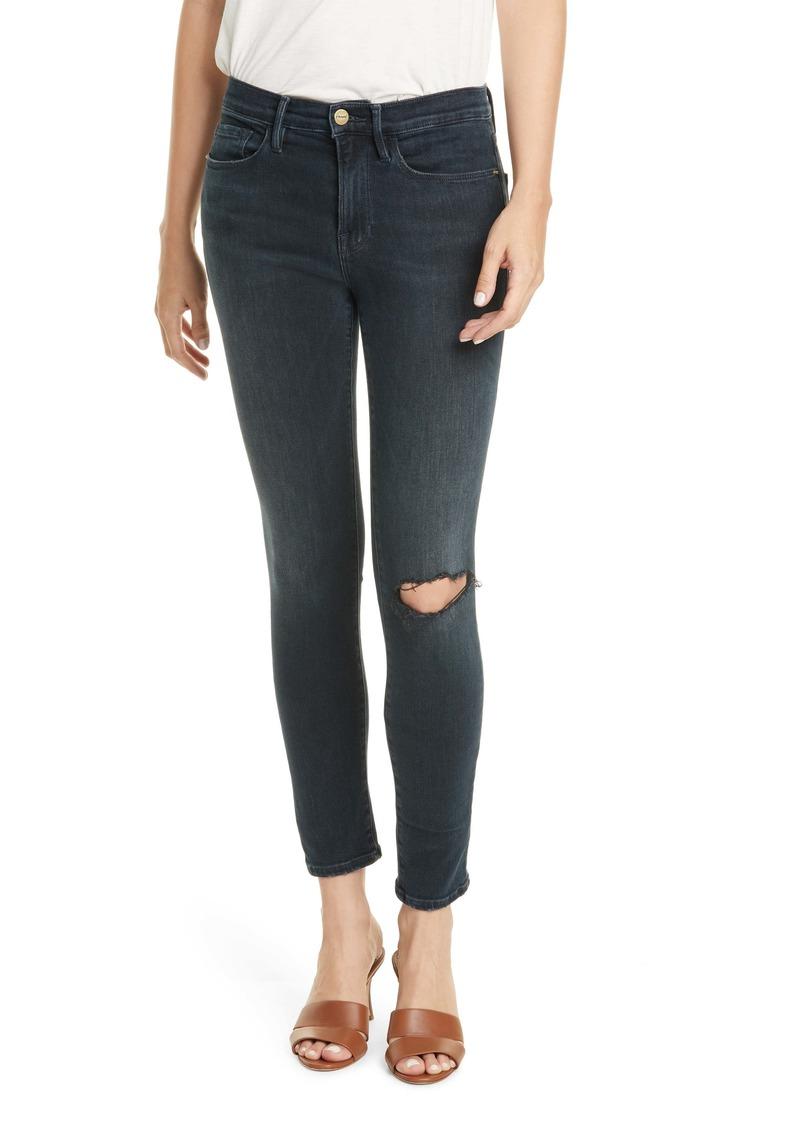 FRAME Le Skinny de Jeanne Jeans (Dynamite)