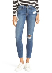 FRAME 'Le Skinny de Jeanne' Jeans (Hilltop) (Nordstrom Exclusive)