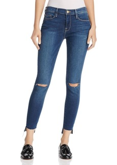 FRAME Le Skinny de Jeanne Jeans in Columbia Road - 100% Exclusive