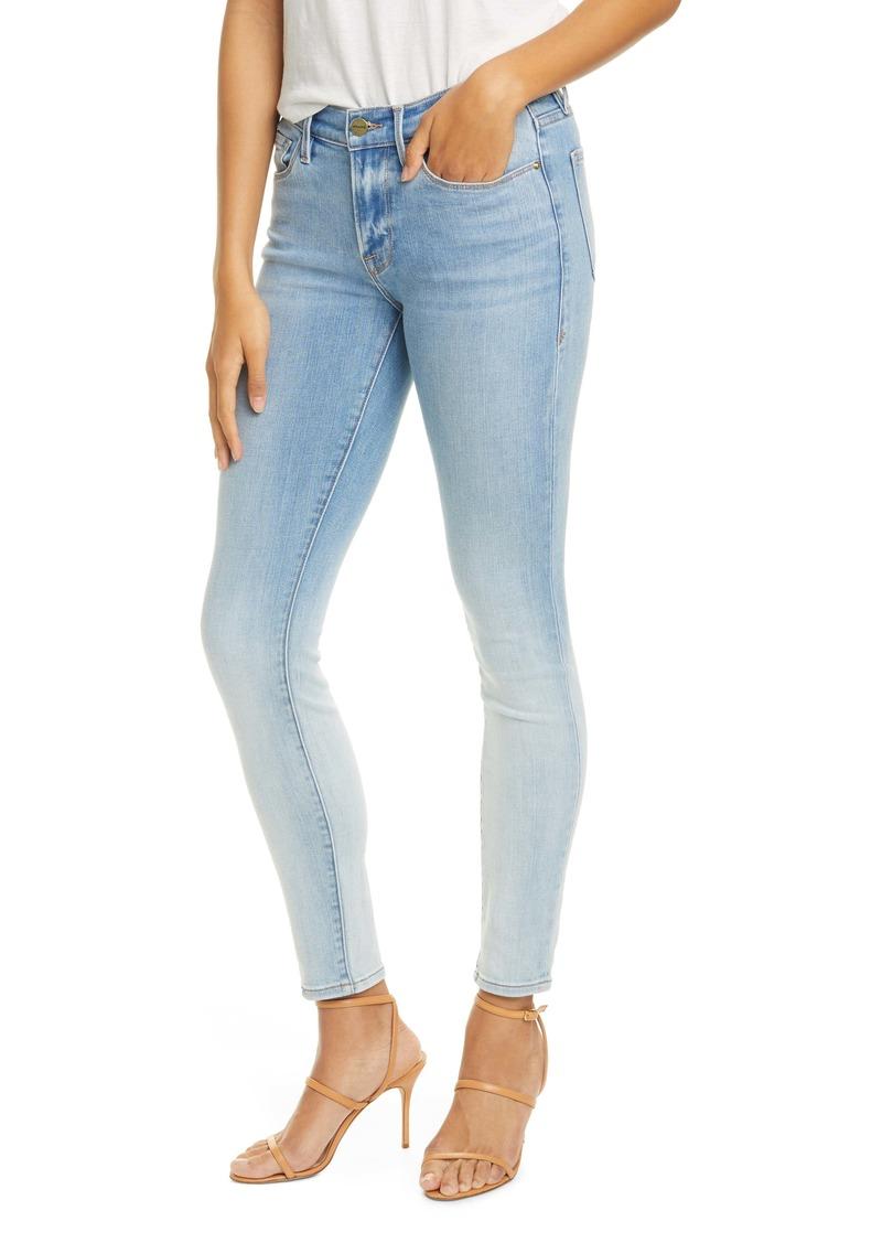 FRAME Le Skinny de Jeanne Ombré Jeans