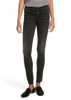 FRAME Le Skinny de Jeanne Raw Edge Skinny Jeans (Oxshott)