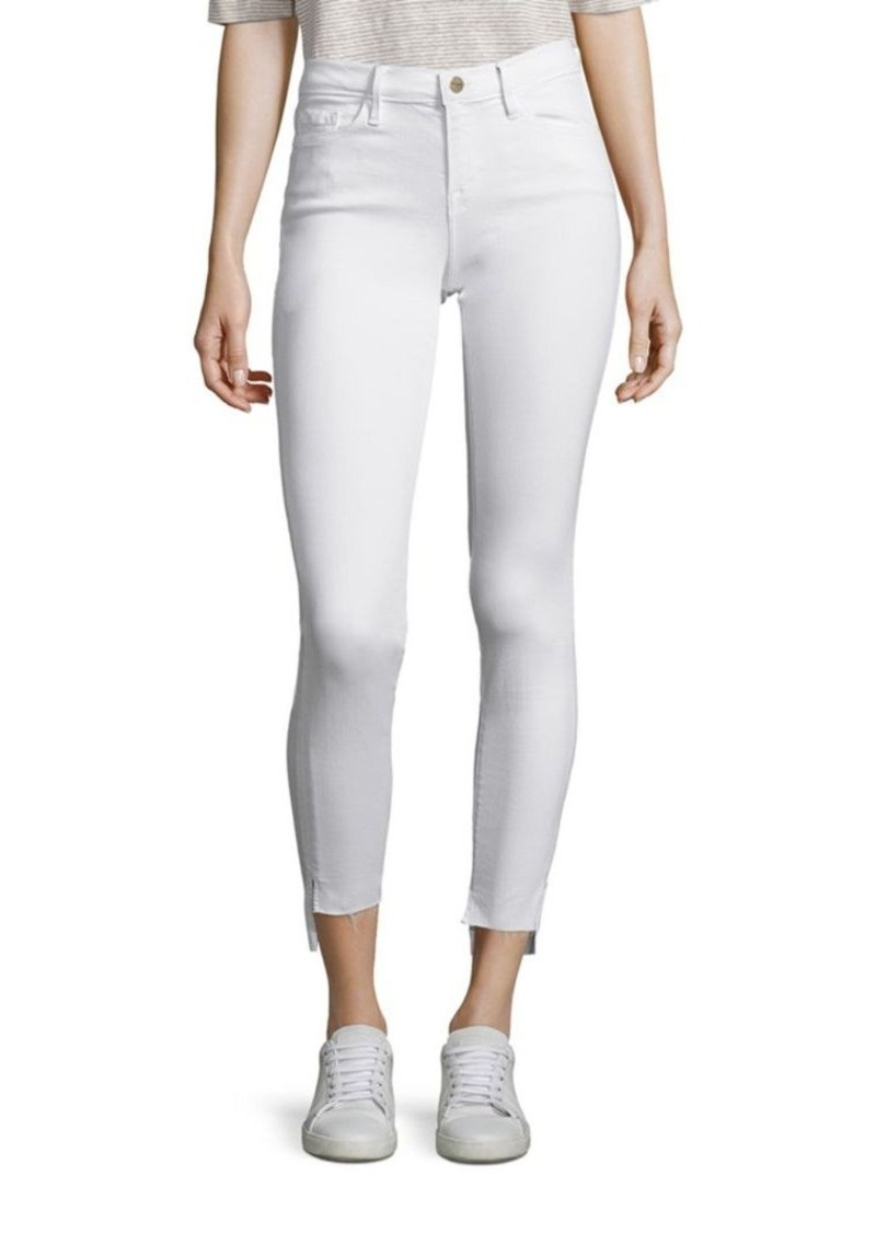 FRAME Le Skinny De Jeanne Step-Hem Jeans