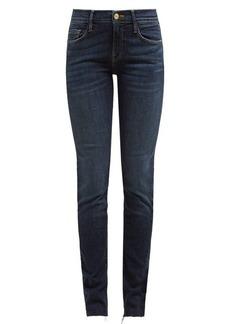 Frame Le Skinny de Jeanne raw-hem jeans