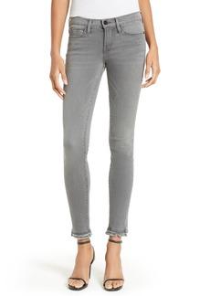 FRAME Le Skinny de Jeanne Raw Hem Skinny Jeans (Marview)