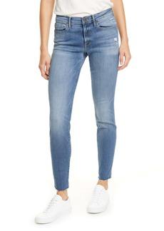 FRAME Le Skinny de Jeanne Raw Hem Skinny Jeans (Vision)