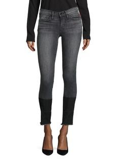 FRAME Le Skinny De Jeanne Released Hem Jeans