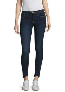 Le Skinny De Jeanne Scoop Step Hem Jeans