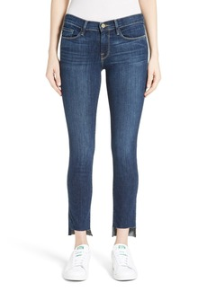 FRAME Le Skinny de Jeanne Step Hem Jeans (Valley View)