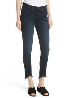 FRAME Le Skinny de Jeanne Sweetheart Hem Jeans (Longstreet)