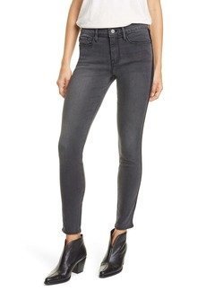 FRAME Le Skinny de Jeanne Velvet Tuxedo Stripe Jeans (Dartmouth)