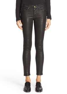 FRAME 'Le Skinny' Lambskin Leather Pants