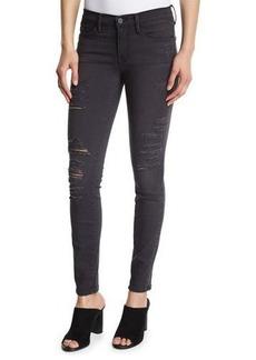 FRAME Le Skinny Satine Distressed Jeans