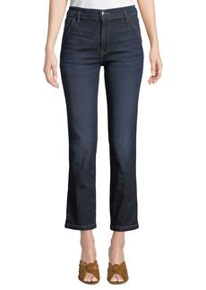 FRAME Le Slender Straight-Leg Denim Trouser Jeans