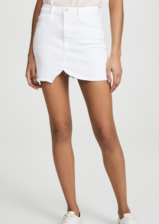 FRAME Le Slit Front Miniskirt