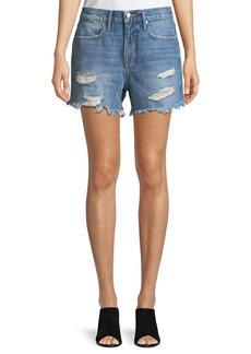 FRAME Le Stevie Denim Shorts