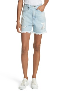 FRAME Le Stevie Denim Shorts (Henley)