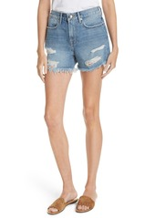 FRAME Le Stevie Denim Shorts (Sunset Cove)