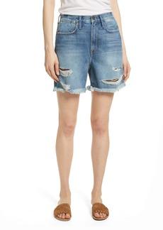 FRAME Le Stevie Denim Shorts (Sunset Cove)