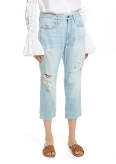 FRAME Le Stevie Distressed Crop Jeans (Forton)
