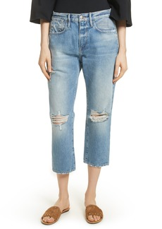 FRAME Le Stevie Distressed Crop Jeans (Deane)