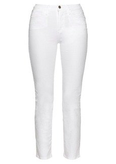Frame Le Straight high-rise jeans