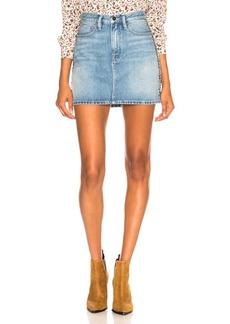 FRAME Le Studded Motif Skirt