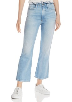 FRAME Le Sylvie Cropped Boot Jeans in Elenda