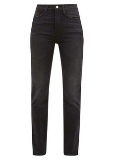 Frame Le Sylvie straight-leg cropped jeans