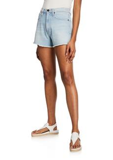 FRAME Le Vintage Denim Cutoff Shorts