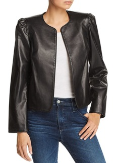 FRAME Leather Bolero