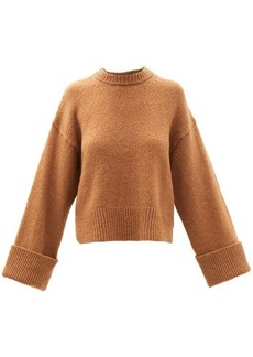 Frame Leon dropped-shoulder wool-blend sweater