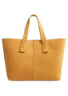 FRAME Les Second Large Suede Tote