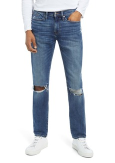 FRAME L'Homme Men's Ripped Skinny Fit Jeans (Telluride Rips)